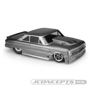 JCONCEPTS 1963 Ford Falcon, Street Eliminator Body - Clear