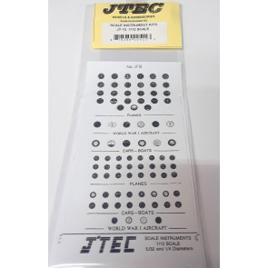 JTEC INSTRUMENT KIT 1/12  SCALE