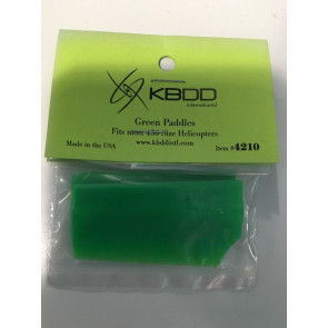 KBDD4210 KBDD BLADES 450 Neon Green Paddle set