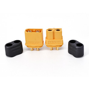 GRAVES RC HOBBIES XT60 CONNECTORS MALE AND  FEMALE WITH CAPS