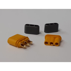 Graves RC Hobbies XT30PM Connectors - Male and Female