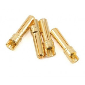 GRAVES RC HOBBIES 4.0MM GOLD PLATED CONNECTOR