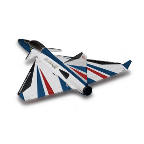 KYOSHO EP JET MIRAGE DF45 BLUE VERSION