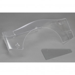 Losi Body Right Fender & # Plate: 5IVE-T