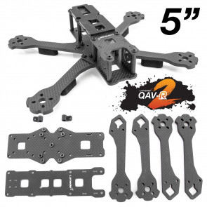 Lumenier QAV-R 2 Slam Freestyle Quadcopter Frame - 5""