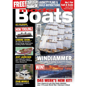 MODEL BOATS MAGAZINE MARCH 2021
