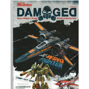 DAMAGED MODELS MAGAZINE SPRING