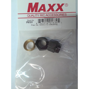 MAXX PRODUCTS PROP NUT 10MM-1 10MM BUSHING