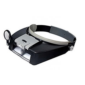 MAGNIFIERS LIGHTED HEAD BAND MAGNIFIER