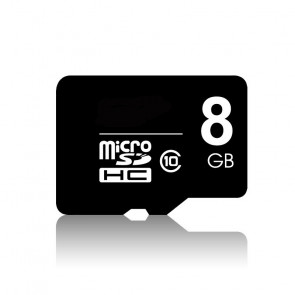 FLASH CARD 8GB MICRO SD HC CLASS 10
