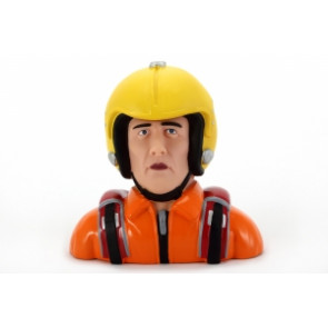 Miracle RC Male Pilot with Orange Suit 1/3 Scale
