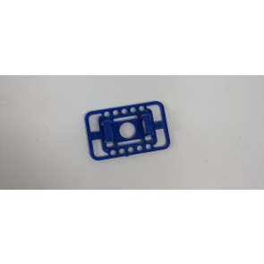 Millennium RC X-Fuse Battery Mount, Blue, No Hardware