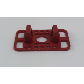 Millennium RC X-Fuse Battery Mount, Red, No Hardware