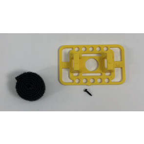 MRCXFBMY MILLENNIUM RC X-FUSE BATTERY MOUNT YELLOW