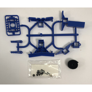 MRCXFSBLUE MILLENNIUM RC X-FUSE SET BLUE (WITHOUT TAIL GEAR)