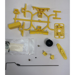 MRCXFSTGY MILLENNIUM RC X-FUSE SET W/TAIL GEAR YELLOW