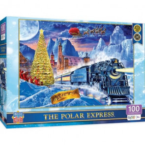 MASTERPIECES PUZZLES The Polar Express Winter/Christmas Scene Puzzle (100pc)