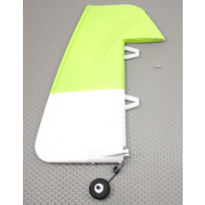 ParkZone Rudder W/Tail Wheel SU-29MM