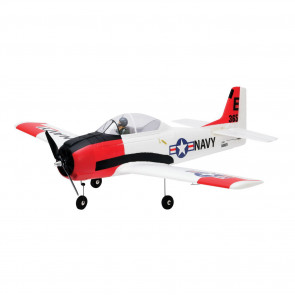 E-Flite T-28 Trojan 1.1m BNF Basic with AS3X and SS
