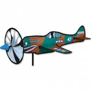 Premier Kites & Designs Windspinner, 20 in. P-40 Warhawk Spinner