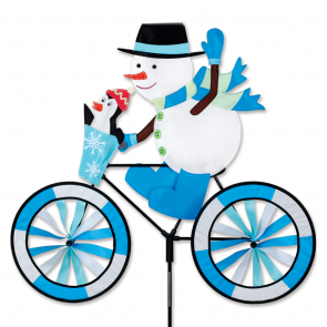 Premier Kites 30 in. Bike Spinner - Snowman