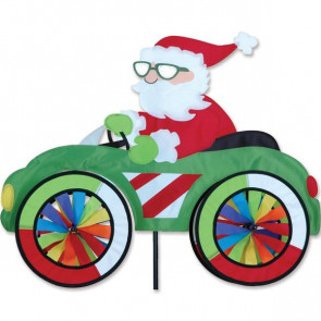 PREMIER KITES 25 in. Car Spinner - Santa