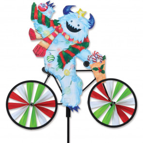 Premier Kites 20 in. Bike Spinner - Yeti
