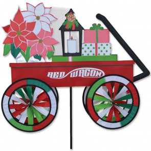 Premier Kites 27 in. Red Wagon Spinner - Christmas