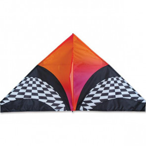 PREMIER KITES 56 IN DELTA - ORANGE OPT ART KITE