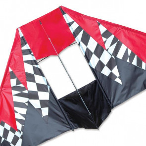 PREMIER KITES 6.5 ft. Box Delta Kite - Op Art
