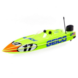 Pro Boat Miss GEICO 17 Power Racer DeepV w/SMART Charger & Battery