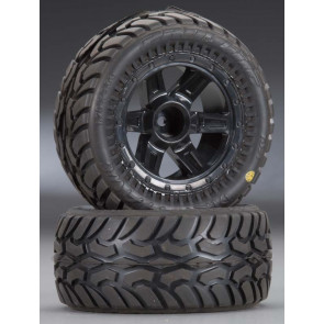 Pro-Line Dirt Hawg I Off-Road Mounted Tire 1/16 (2)