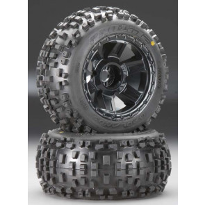 """Pro-Line Badlands 3.8"""" Mounted Front/Rear All-Terrain"""