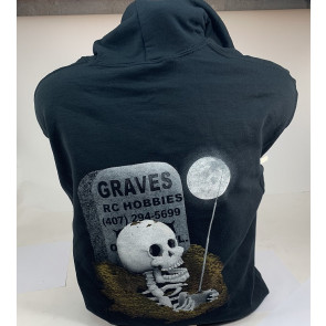 Graves RC Hobbies Grave Pullover Sweatshirt - Black - SMALL