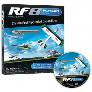 REAL FLIGHT 8 Horizon Hobby Edition, Software Only