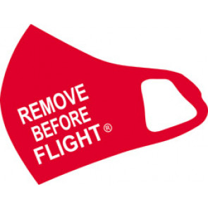 Remove Before Flight Mask