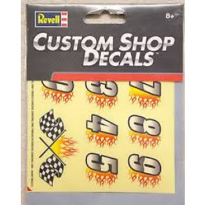 Revell Custom Shop Decals - Number Sticker