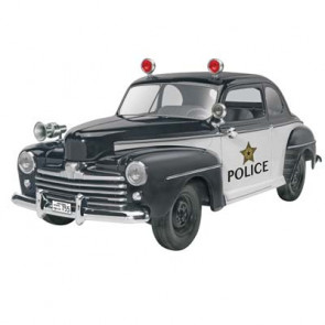 Revell 1/25 '48 Ford Police Coupe 2 'n 1