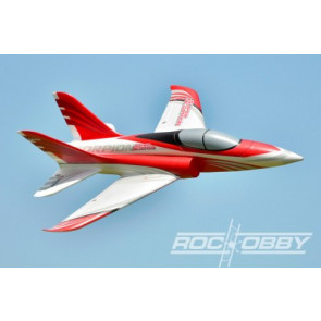 RocHobby 70mm Super Scorpion Jet Red PNP