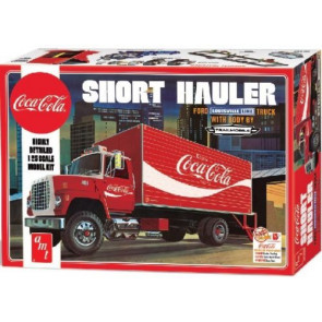 AMT Model Coca Cola 1970 Ford Louisville Short Hauler 1/25