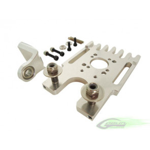 Goblin 630/700/770- Aluminum Motor Mount With Third Bearing Support