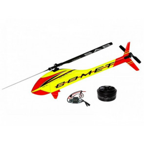 SAB Goblin Mini Comet (Yellow - Red) - SAB Motor & ESC Included