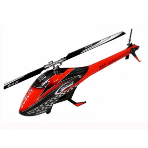 SAB Goblin 380 Flybarless Electric Helicopter Red/Black Kit