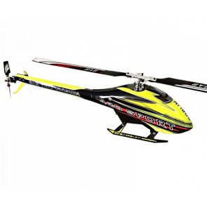 SAB Goblin 420 Flybarless Electric Helicopter Kit: Yellow/Black