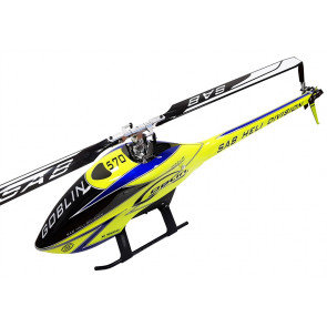 Goblin 570 Sport Electric Helicopter Kit - Yellow