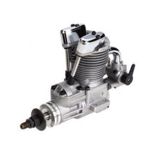 Saito Engines 82 AAC with Muffler (New Case): AB