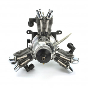 SAITO 33cc 3-Cylinder Gas Radial Engine: BS