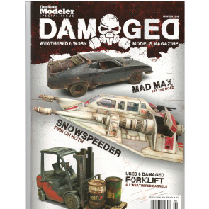 Damaged Weathered and Worn Models Magazine - Winter 2018