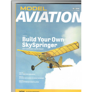 MODEL AVIATION AMA MAGAZINE OCTOBER 2019