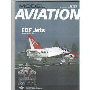 MODEL AVIATION AMA MAGAZINE- AUGUST